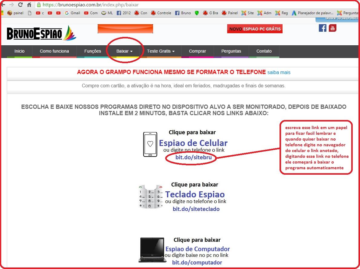 baixar programa para rastrear celular pelo pc gratis
